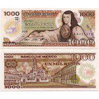 Мексика. 1000 песо (образца 1985 года, P85, подпись 3, UNC)