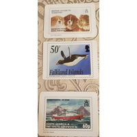 3 карманных календаря Антарктида.