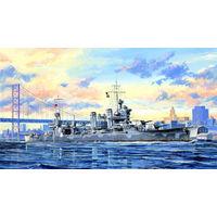"""Крейсер СА-39 """"Квинси"""", сборная модель корабля 1/350 Trumpeter 05748"""