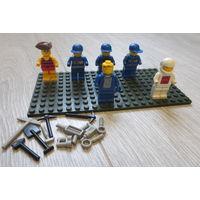 Лего. Brick...человечки и др..., недостатки есть т.к. рук нет...
