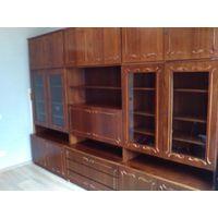 Набор мебели(шкаф+секция из трех частей+тумбочка)