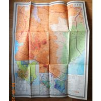 Большая карта Кении