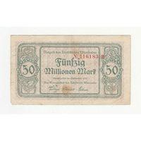 Германия 50 000 000 марок 1923 года. Нечастая!