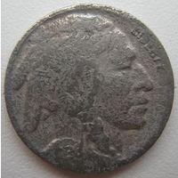 США 5 центов 1936 г.