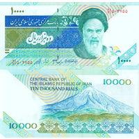 Иран 10000 риалов  2016 год  UNC