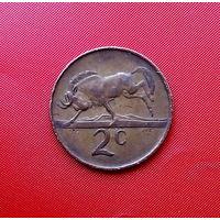 85-08 ЮАР, 2 цента 1983 г.