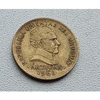 Уругвай 5 песо, 1968 3-15-27