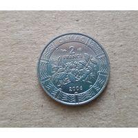 Центральная Африка 2 франка 2006 (BEAC 2 FRANCS)