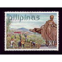 1 марка 1970 год Филиппины 940