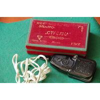 Утюг Стрелка в родной коробке с паспортом   60- е г .   все работает
