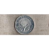 Джибути 5 франков 1991(Li)
