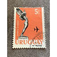 Уругвай. Статуэтка. Авиация