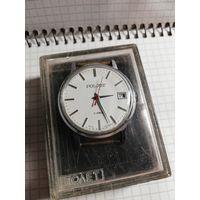 """Часы """"Полет"""" в состоянии на ходу+фирменная коробочка в комплекте с 1 рубля без мц!!!"""