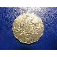 Австралия 50 центов 2001 г.