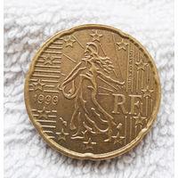 20 евроцентов 1999 Франция #01
