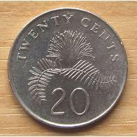 СИНГАПУР,20центов2006г. KM# 101