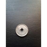 Япония 5 сен 1944 цинк