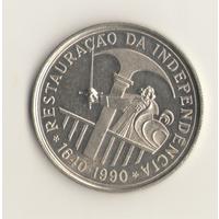 100 эскудо 1990 г.350 лет со дня восстановления португальской независимости.