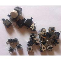 Кнопки (тактовые боковые, обычные и PS580L)