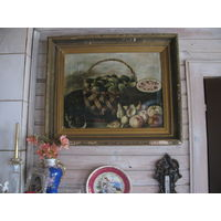 Картина живопись натюрморт начало 19 века