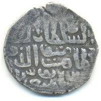Мамлюкский султанат. Бурджиты. Султан Ал-Захир Баркук (1382-1389, 1390-1399 гг.). Сирия. Дирхем.
