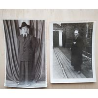 Юноши из 1950-х. 2 фото. 9х12 см. Цена за оба.