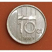 106-16 Нидерланды, 10 центов 1999 г.