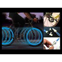 Светящийся светодиодный колпачок на нипель (ниппель) универсальный маленький для велосипеда, авто, мото, новые в наличии
