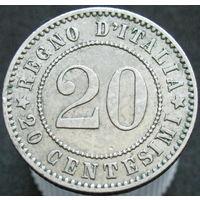 Италия 20 чентезимо 1894