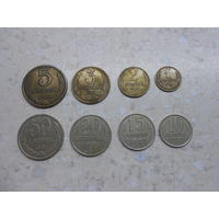 Комплект копеечных монет СССР за 1981 г.