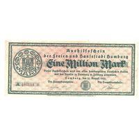 Германия 1 000 000 марок 1923 года. Нечастая!