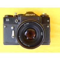 Фотоаппарат Зенит 11, Гелиос 44м-4