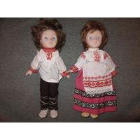 Куклы .  СССР . Белорус и белоруска