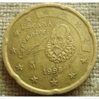 20 евроцентов 1999 Испания