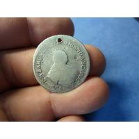 Полуполтинник 1754 г. ММД Елизавета Петровна Российская Империя торг обмен