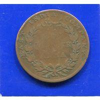 Британская Индия 1/4 анна 1835 , East India Co. Лот 2