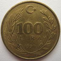Турция 100 лир 1990 г. (g)