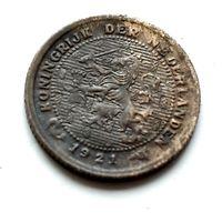 Нидерланды 1/2 цента, 1921 1-11-23