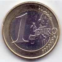 Кипр, 1 евро 2008 года.