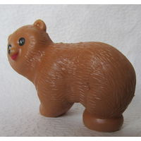 Медведь(из ПВХ пластизоля),СССР-No2