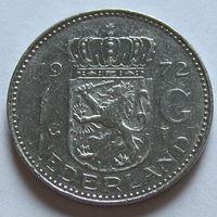Нидерланды, 1 гульден 1972 г