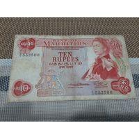 Маврикий 10 рупий 1967