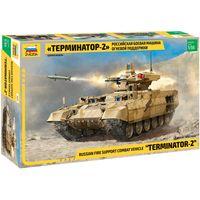 ЗВЕЗДА 3695 - Российская боевая машина огневой поддержки ТЕРМИНАТОР-2 / Сборная модель 1:35