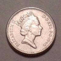 5 пенсов, Великобритания 1990 г.