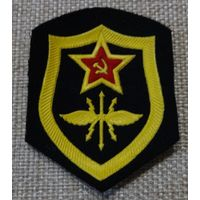 Шеврон войска связи РТВ ВС СССР штамп 1