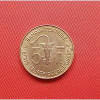 67-27 Западная Африка, 5 франков 1971 г. Единственное предложение монеты данного года на АУ