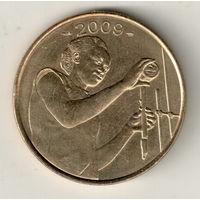 Западная Африка 25 франк 2009