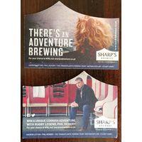 Подставка под пиво Sharp's Brewery No 1  /Великобритания/