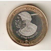 Лесото 5 малоти 2016 50 лет Независимости