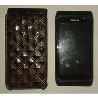 Мобильный телефон Nokia N8 + чехол.